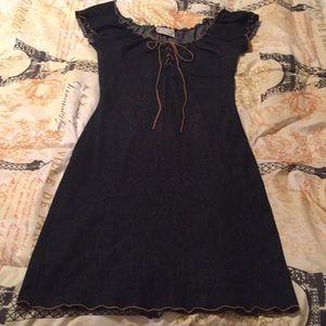 "Dark ""denim looking"" dress"